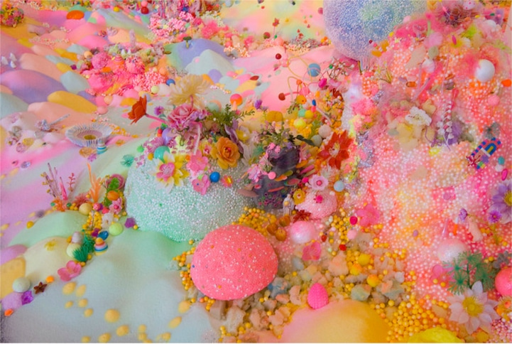 Candy-Art-Floor-Installation