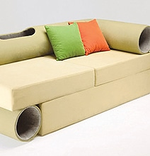 Cat Tunnel Sofa: Furniture Designed For Cat Lovers