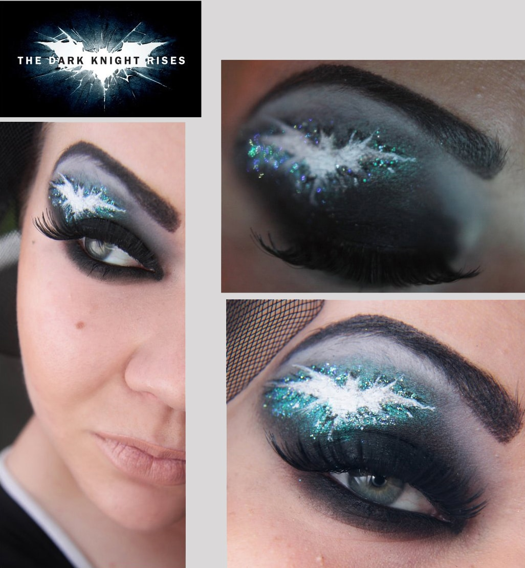 Eye Makeup Designs For Geeks: Mass Effect, Dark Knight & More
