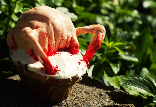 Headcrab-Scary-Creative-Cupcake