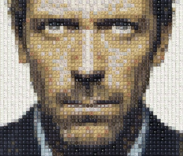 Hugh-Laurie-keyboard-keys-art