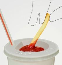 Ketchup Dipping Cup: A Brilliant New Way To Eat Ketchup