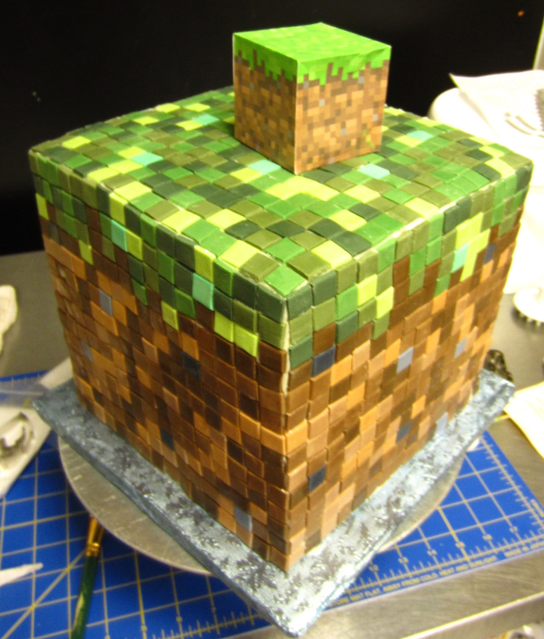 Minecraft-Cupcakes-and-Cakes