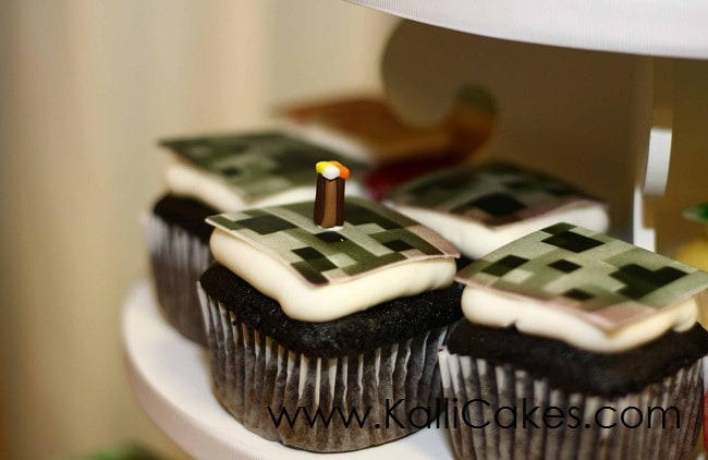 Minecraft Cupcakes Cakes To Celebrate Being Creative