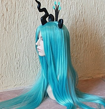 Colorful My Little Pony Inspired Cosplay Costume Wigs & Tails