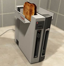 The Toaster NES Mod: Suddenly Mornings Are Way Better