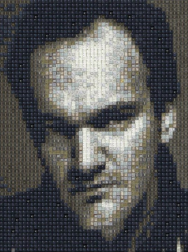 Quentin-Tarantino-Keyboard-Keys-Art