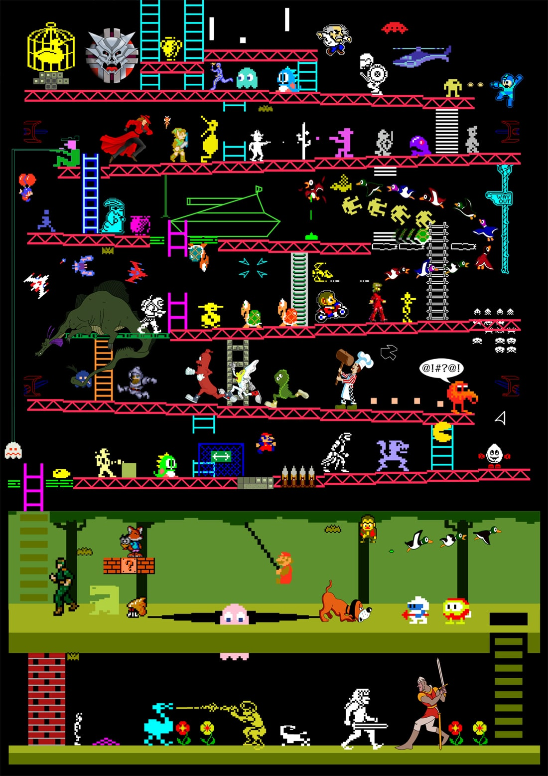 Retro-80s-Arcade-Games-Illustration