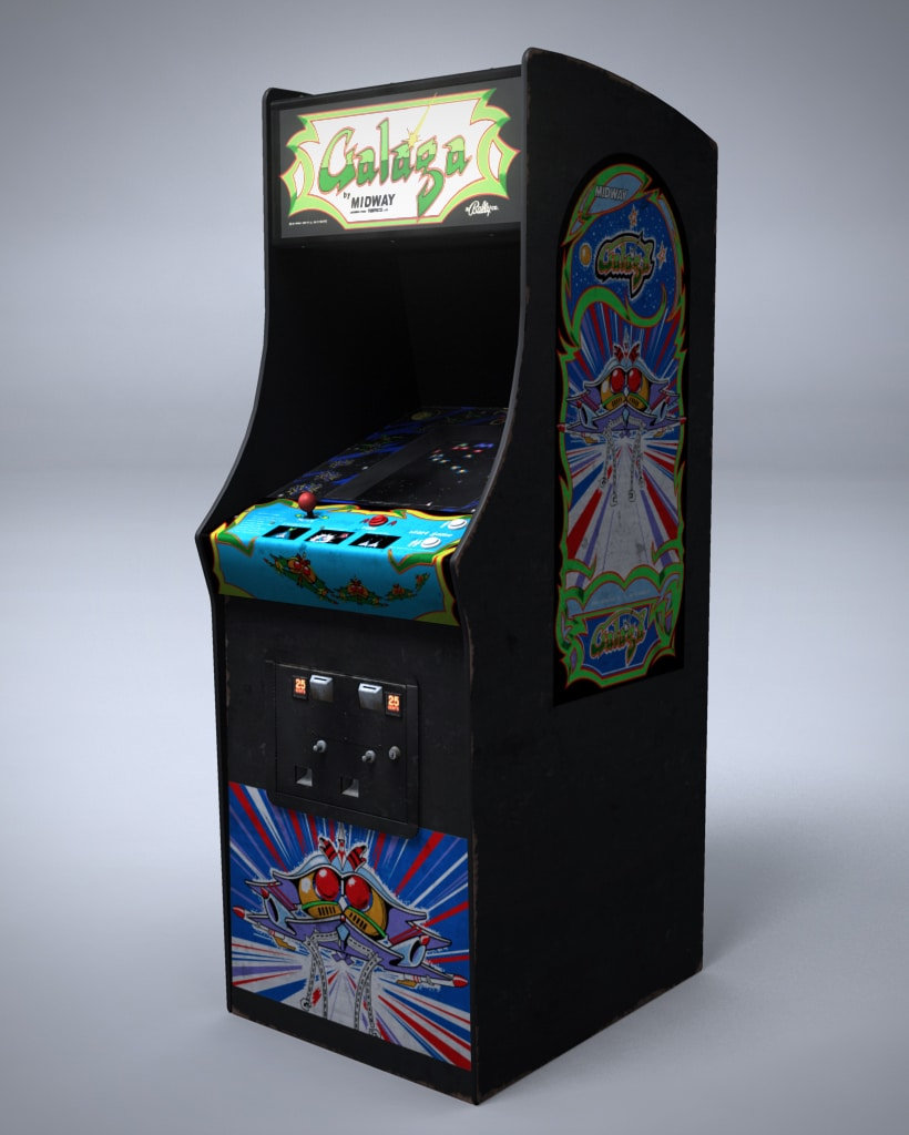 Retro-Gaming-Galaga-iPhone