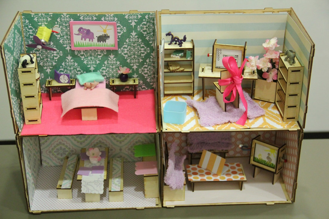 Roominate dollhouse light up her life with an electric for Ikea casa bambole