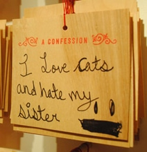 Secret Confessions Exposed In A Fascinating Display [15 Pics]