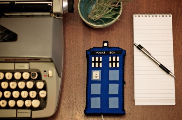 Doctor Who TARDIS Inspired iPhone Charging Station