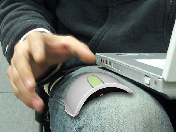 Arc Mouse Allows Browsing On Curved Surfaces