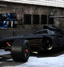 Batman Concept F1 Race Car Will Make You Drool For Speed