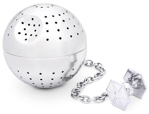 Death Star & Tie Fighter Tea Ball For Star Wars Tea Fanatics