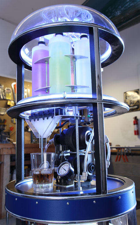 DIY Robot Drink Mixer Can Mix 5,000 Drinks Instantly