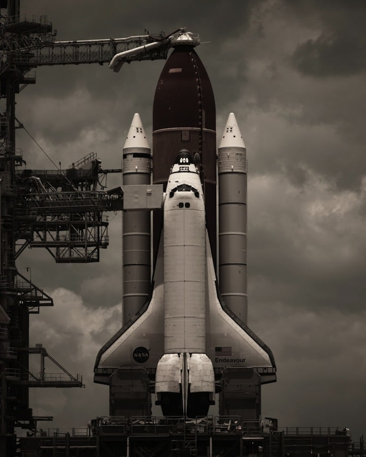 Dan Winters Space Shuttle Photos May Singe Your Eyebrows