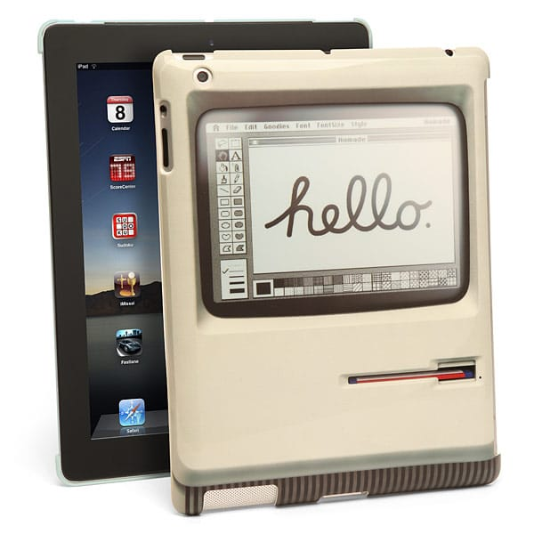 Go Retro With The Ultra Sleek Padintosh iPad Case