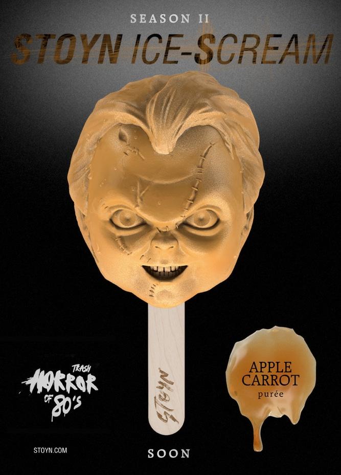 Horror Ice Cream Popsicles Based On '80s Movie Villains