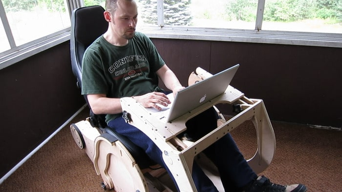 Multi-Purpose Chair For The Ultimate Geek