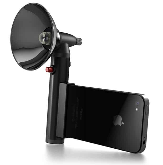 Paprazzo Light Transforms iPhone Into Old Style Paparazzi Camera