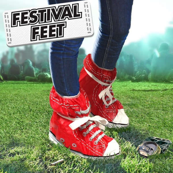Plastic Bag Converse Sneakers For Festival Fanatics