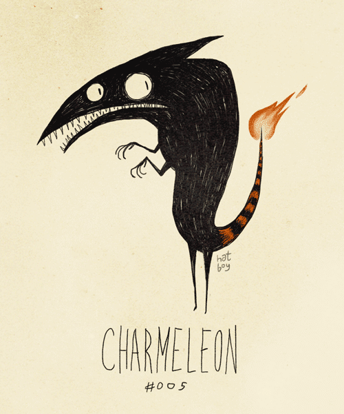 Pokémon Characters As Tim Burton Creature Drawings