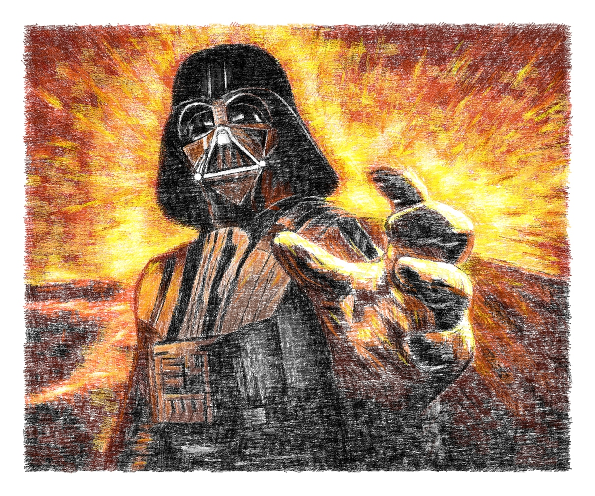 Pop Culture Art Created By Copying Phrases Thousands Of Times