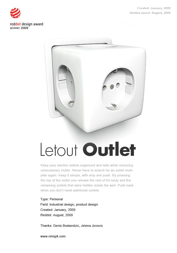 Power Outlet Design Innovation To Be Excited About