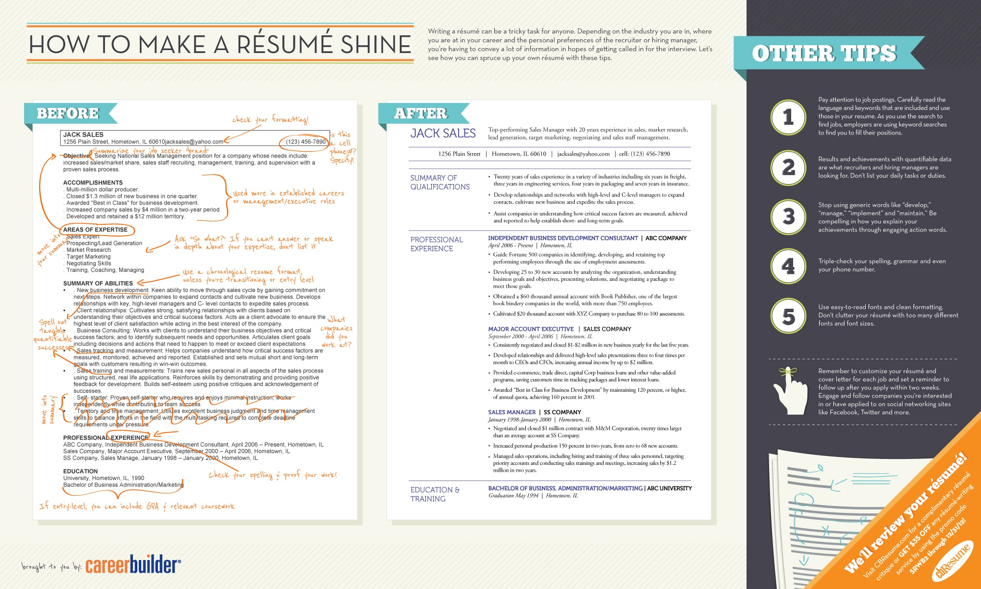 How 2 make resume