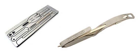 Custom Pen: The Sleek, Steel Ballpoint Pen You Build Yourself