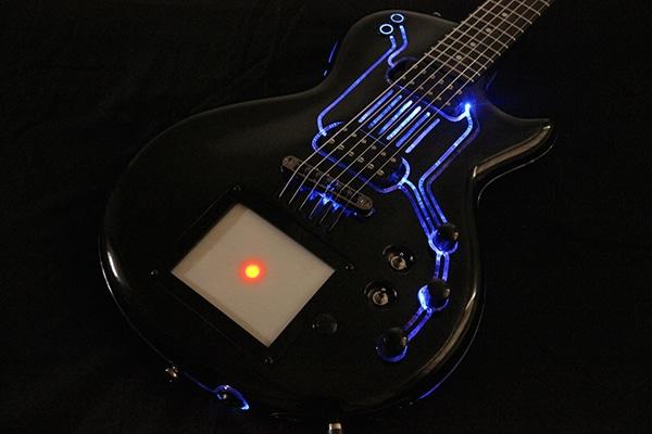 TRON Custom Guitar Build Is A Lightshow In Itself