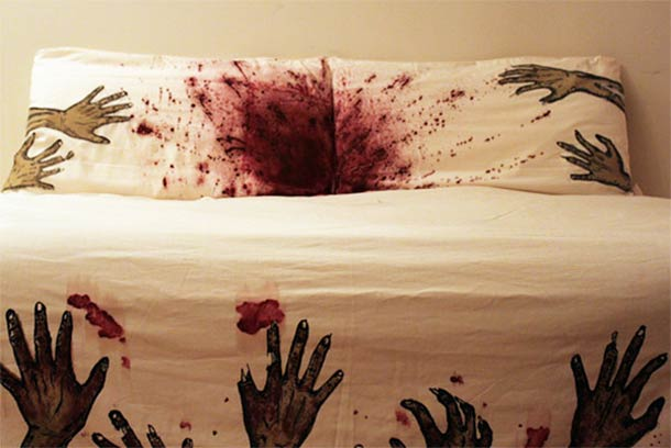 Zombie Sheets Are The Ultimate Disguise For The Living