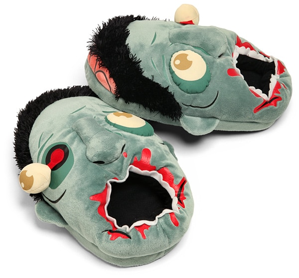 Zombie Slippers Finally Put The Undead To Good Use