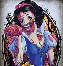Zombified Disney Princesses Will Haunt Your Dreams
