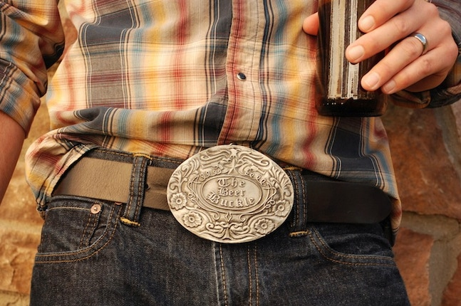 Geeky Belt Buckle Beer Holder: Never Lose Your Beer Again