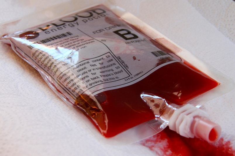 Party Dexter Style With Blood-Themed Foods & Decor