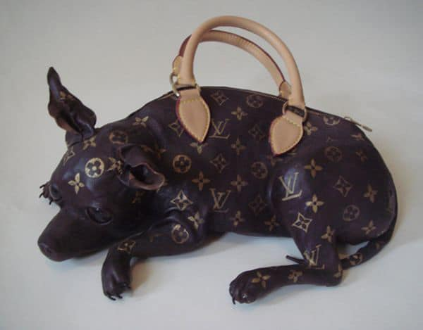 Reeeallly?…The Louis Vuitton Inspired Doggie Bag