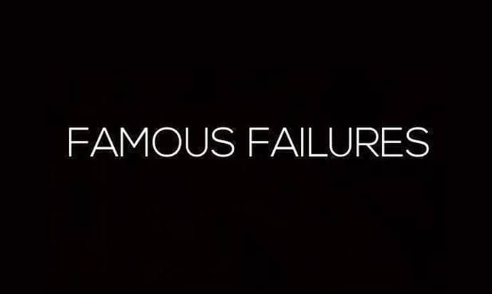 Fail To Succeed: 7 Iconic Successes Spawned From Failure [Chart]