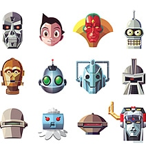 Take A Break & Guess The Famous Robots [Chart]