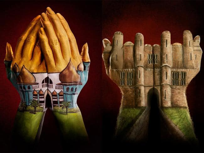 Hand-Paintings-Finger-Illusions