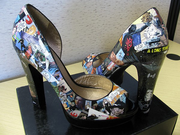 Star Wars Shoes: The High Heels Every Geek Girl Will Love