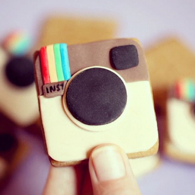 Insta-Grahams: Your Instagram Photos Printed On Cookies