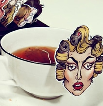 Lady Gaga Tea Bags: Baby You Were Pourn This Way