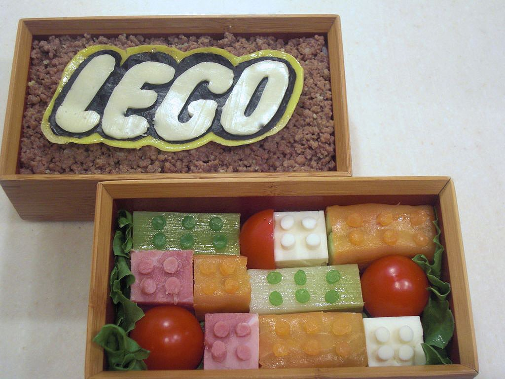 The LEGO Bento Lunch Design: A Delicious Feat Of Geek