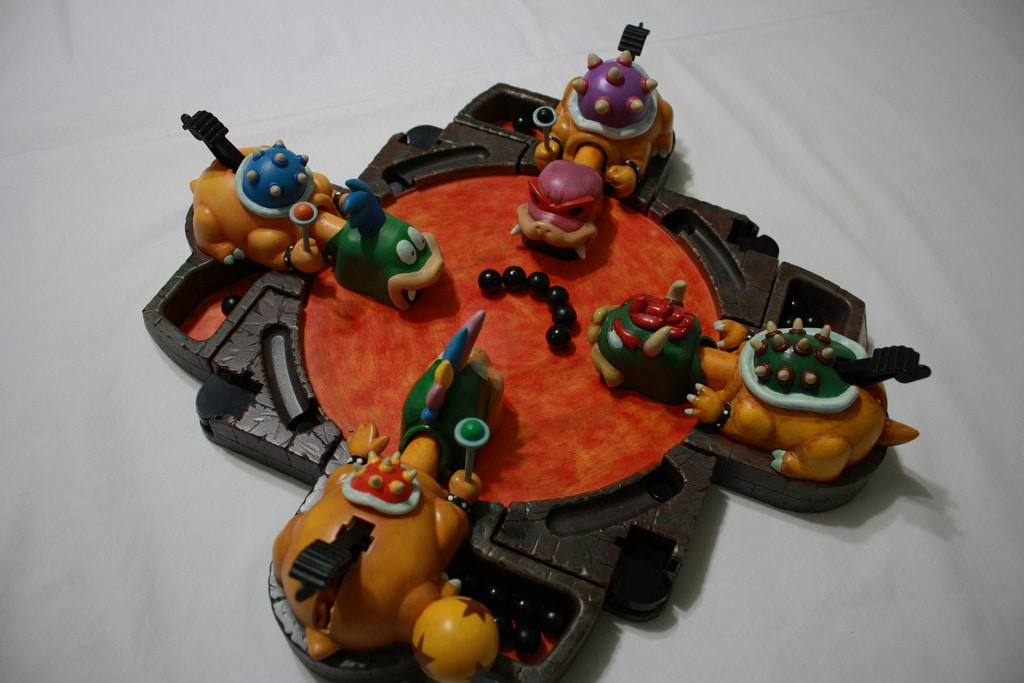 Hungry Hungry Hippos: The Custom Mario Inspired Koopa Version