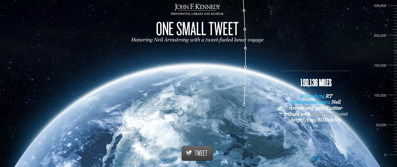 One Small Tweet: Travel To The Moon On Twitter