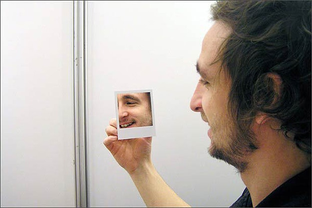 Polaroid-Picture-Compact-Mirror