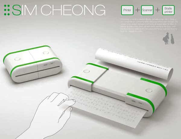 Braille-Translation-Printer-Concept
