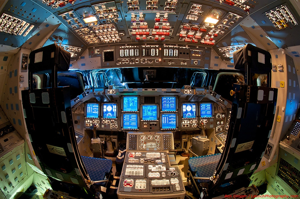 Spectacular Space Shuttle Flight Decks [10 Photos]